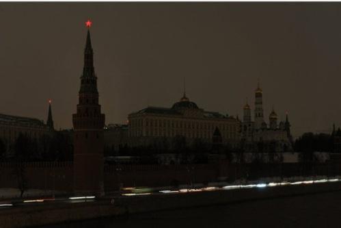 «Час Земли»: Около 400 зданий в центре Москвы погрузятся «во тьму»