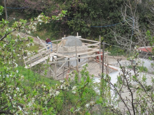 spy photo - new concrete base
