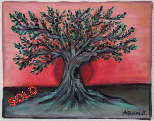 Tree by Andromachi Panagiotara SOLD S