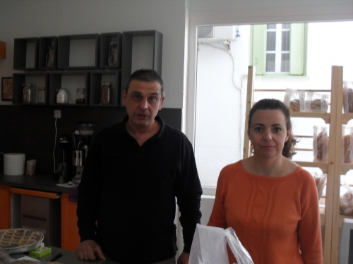 The staff of Life: Giorgos and Zoi