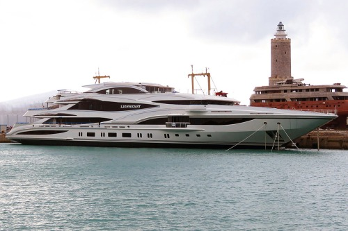 Who would resent Sir Phil's third superyacht?